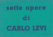 * CARLO LEVI - Sette Opere - Galleria Chiurazzi 1959