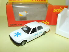 PEUGEOT 505 AMBULANCE SOLIDO