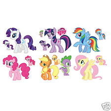 My Little Pony Friendship is Magic Large Removable Wall Stickers Decal Set