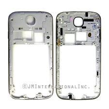 OEM Samsung Galaxy S4 i545 L720 R970 Back Frame Back Plate Frame White Parts
