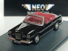 NEO Facel Vega Fv1 Cabriolet noir - 87251 - 1/87