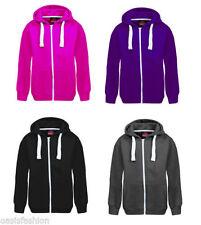Sweats et vestes à capuches polyester pour fille de 2 à 16 ans