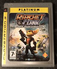 RATCHET & CLANK - TOOLS OF DESTRUCTION SONY PLAYSTATION 3 PAL COMPLETE MINT