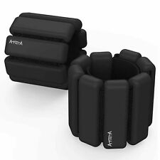 ATRIA Wrist And Ankle Weights For Yoga, Dance, Fitness,  2lbs Each Pair