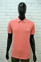 Polo Uomo US.POLO ASSN Taglia L Maglia Manica Corta Maglietta Cotone Shirt Rosa