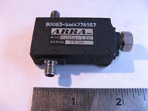 Arra 6804-12C Coaxial Attenuator 0-12dB 8-12.4GHz SMA Female - Used Qty 1