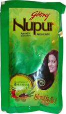 3 LOT Nupur Natural Henna (100% Natural) 120 Gm USA SELLER
