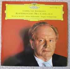 BEETHOVEN - Piano Concerto No. 1 - Kempff / Berliner Phil / Leitner - DG Tulips