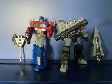 Transformers War For Cybertron Optimus Prime And Megatron Siege Read Description