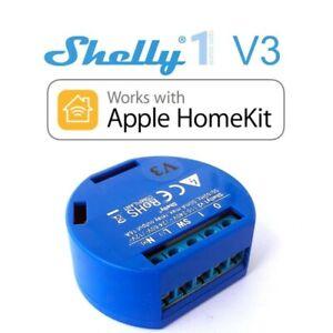 Shelly 1 - Schalter Steckdosen Licht Unterputz - für Apple HomeKit