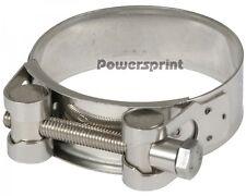 Powersprint Edelstahl Auspuff Spezial Bandschelle 60mm-63mm Gelenkbolzenschelle
