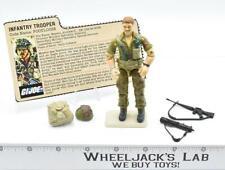 Footloose Infantry Trooper 100% Complete GI Joe 1985 Hasbro Action Figure