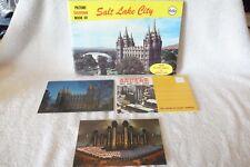 Vintage 1960's Salt Lake City Utah Souvenir Brochure Travel Postcards Book