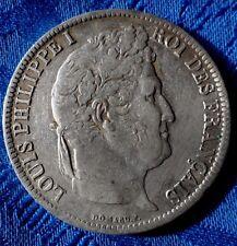 MONNAIE DE 5F ECU EN ARGENT DE LOUIS PHILIPPE I ROI DES FRANçAIS 1831 K