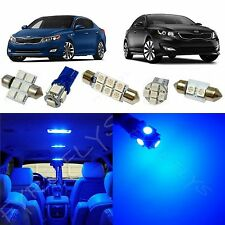 10x Blue LED lights interior package kit for 2011-2016 Kia Optima +Tool KO1B