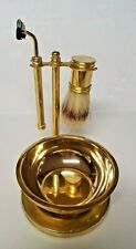 Vintage Brass Shaving Set/Kit