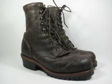 Chippewa Cibola Steel Toe Logger Work Boot Men size 9 EE Leather