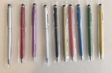 Pen 10Pc Lot 2 In 1 Stylus pen Universal, Tablets, Smart phones , Multi Color