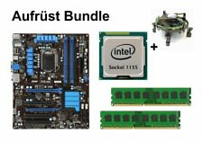 Aufrüst Bundle - MSI Z77A-G43 + Intel i5-2300 + 16GB RAM #72123