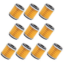 10x Oil Filter fit for Yamaha YZ250 XT250 YFZ450 YBR250 WR250F WR450F Raptor tp