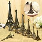 5-30cm Bronze Tone Paris Eiffel Tower Figurine Statue Vintage Model Decor Alloy
