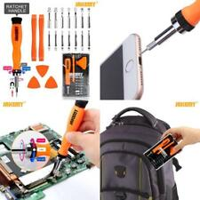 Jakemy Ratchet Screwdriver Set Professional Repair Tool Kit With Opening Pry Bar