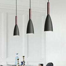 Black Pendant Lighting Kitchen Lamp Modern Pendant Light Bar Wood Ceiling Lights