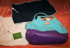 Used Kate Spade Baby Diaper Bag with Roll-up Changing Pad & Cover