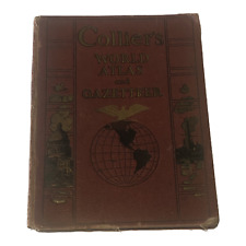 Colliers World Atlas and Gazetteer 1937