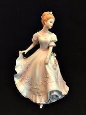 Home Interiors Figurine Lady Caroline 1993 Masterpiece Porcelain HOMCO 9.5 inch