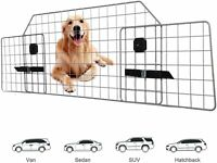 Adjustable Steel Pet Barrier Fence Dog Guard Mesh Wire For SUV Car Vehicle Cargo