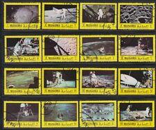 Manama 1970 used Mi.306/21 A Weltraum Space Mondlandung Moon Landing Apollo