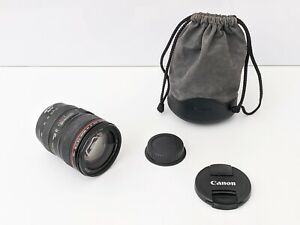 Canon EF 24-105mm f/4.0 IS USM Zoom Lens with Pouch