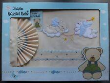 6 pièces bébé lit bébé ensemble de literie avec 4 faces anti-chocs pour s/'adapter 140x70 cm-motif 16