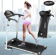 New Genki Motorized Treadmill Machine Exercise Equipment Home Gym Fitness