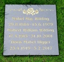 Granite cremation memorial stones  300mm x 300mm x 30m very high quality stone