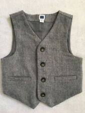 Janie And Jack Boys Suit Vest Gray Size 2