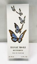 Hanae Mori Butterfly Women's Perfume Eau De Parfum Spray 1.7 oz ~ NEW & SEALED