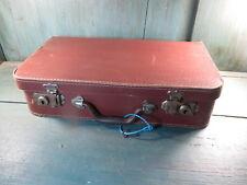 Petite valise ancienne valisette vieux bagage avec cle clef voyage