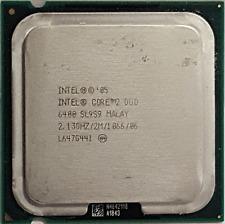 Intel Core 2 Duo SL9S9 E6400 2.13GHz CPU