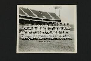 1954 Baltimore Orioles First Year Original Team Photograph