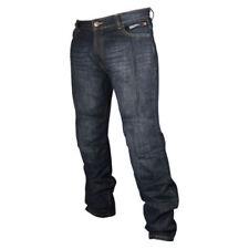 Pantaloni blu per motociclista taglia M