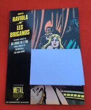 RAVIOLA LADRONES HUMANOIDES METAL EO 1982 BUEN ESTADO BD BANDA COMIC FLEXIBLE