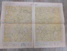 Ancienne carte COCHINCHINE 1930/Province de MIMOT/Indochine 2pans de 45x60