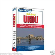 NEW 5 CD Pimsleur Learn to Speak Basic Urdu Language