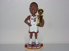 MARIO CHALMERS Miami Heat Bobble Head 2013 NBA Champs Trophy Limited Edition New