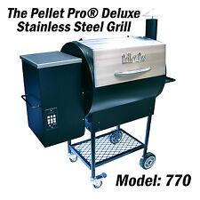 Pellet Pro® Deluxe Stanless 770 Pellet Grill Smoker 35# hopper & PID controler