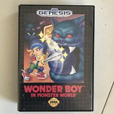 Wonder Boy in Monster World (Sega Genesis, 1990) Complete! 1989