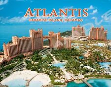 Bahamas - Paradise Island ATLANTIS - Travel Souvenir Flexible Fridge MAGNET