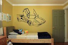 Wall Room Decor Art Vinyl Sticker Mural Decal Car Boy Supercar Speed Auto FI016